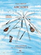 Pascal Proust - arcades - Sheet Music - di-arezzo.co.uk