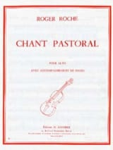 Roger Roche - Chant pastoral - Partition - di-arezzo.fr