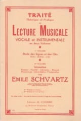 Emile Schvartz - Traité de lecture musicale – Volume 1 - Partition - di-arezzo.fr