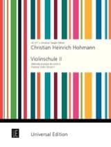 Violinschule, Band 2 Christian Heinrich Hohmann laflutedepan.com