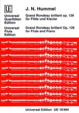 Grand rondeau brillant op. 126 – Flöte Klavier - laflutedepan.com