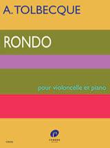 Rondo Tolbecque Partition Violoncelle - laflutedepan.com