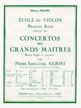 1er solo du Concerto n° 20 Nerini laflutedepan.com