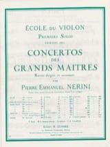 1er Solo du Concerto n° 23 Nerini) laflutedepan.com