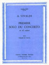 1er solo du Concerto en sol majeur VIVALDI Partition laflutedepan.com