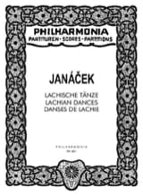 Leos Janacek - Lachische Tänze - Partitur - Sheet Music - di-arezzo.co.uk