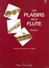 Les plaisirs de la flûte - Volume 2 Luc Urbain laflutedepan.com