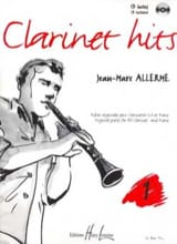 Clarinet Hits Volume 1 - Livre Jean-Marc Allerme laflutedepan.com