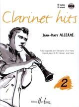 Clarinet Hits Volume 2 - Livre Jean-Marc Allerme laflutedepan.com
