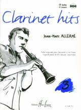 Clarinet Hits Volume 3 - Livre Jean-Marc Allerme laflutedepan.com