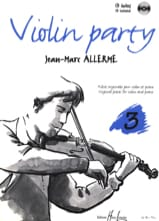 Jean-Marc Allerme - Violin Party Volume 3 - Sheet Music - di-arezzo.com