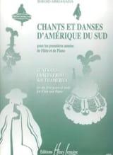 Chants et Danses d'Amérique du Sud - Flûte piano laflutedepan.com