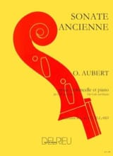 Sonate ancienne Olivier Aubert Partition laflutedepan.com