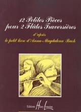 12 Petites pièces pour 2 Flûtes laflutedepan.com