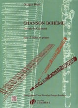 BIZET - Bohemian Song - 2 flutes and piano - Sheet Music - di-arezzo.com