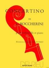 Luigi Boccherini - Concertino - Partition - di-arezzo.fr