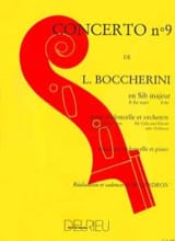 BOCCHERINI - Concerto No. 9 Cello, G. flat major G. 482 - Sheet Music - di-arezzo.com