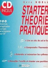 Starter théorie pratique Eric Boell Partition laflutedepan.com