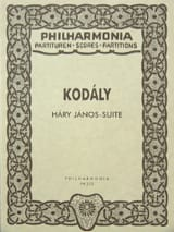 Zoltán Kodály - Hary Janos-Suite - Partitur - Partition - di-arezzo.fr