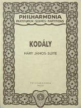 Hary Janos-Suite - Partitur Zoltán Kodály Partition laflutedepan.com