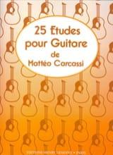25 Etudes pour guitare op. 60 Mattéo Carcassi laflutedepan.com