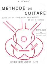Ferdinando Carulli - Guitar method - Sheet Music - di-arezzo.co.uk