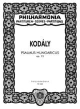 Zoltan Kodaly - Psalmus Hungaricus op. 13 - Partitur - Partition - di-arezzo.fr