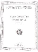 Sonate en La Michel Corrette Partition Violon - laflutedepan.com