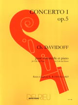 Charles Davidoff - Concerto No. 1 op. 5 in B minor 1st movement - Sheet Music - di-arezzo.co.uk