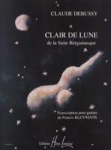 Clair de Lune - Rév. Kleynjans DEBUSSY Partition laflutedepan.com