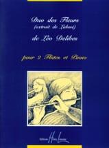 Léo Delibes - Duo des fleurs (Lakmé) - 2 Flûtes et piano - Partition - di-arezzo.fr