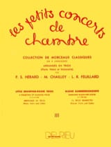 FEUILLARD - The Little Chamber Concerts Vol.3 - Trio - Sheet Music - di-arezzo.co.uk