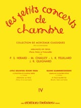 FEUILLARD - The Little Chamber Concerts Vol.4 - Trio - Sheet Music - di-arezzo.co.uk