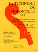 Technique du Violoncelle Volume 1 FEUILLARD Partition laflutedepan.com