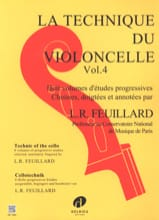 FEUILLARD - Volume 4 Cello Technique - Sheet Music - di-arezzo.com