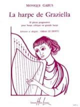 Harpe de Graziella Monique Gabus Partition Harpe - laflutedepan.com
