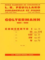 Georg Goltermann - Concierto No. 2 Op.30 en Re menor 1 Mvt - Partitura - di-arezzo.es