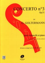 Georg Goltermann - Concerto N ° 3 Op.51 in If Minor 1st Mvt - Partitura - di-arezzo.it