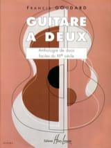 Guitare à deux Partition Guitare - laflutedepan