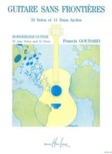 Guitare sans frontières Francis Goudard Partition laflutedepan.com