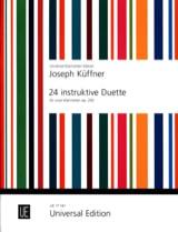 24 Instruktive Duette Op. 200 Joseph Küffner laflutedepan.com