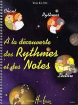 Yves Klein - Discovering rhythms and notes - Sheet Music - di-arezzo.co.uk
