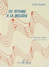 Yves Klein - From rhythm to melody - without piano - Sheet Music - di-arezzo.com