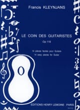 Francis Kleynjans - The corner of the guitarists op. 119 - Sheet Music - di-arezzo.co.uk