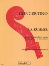 Concertino Friedrich-August Kummer Partition laflutedepan.com
