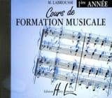 CD - Cours de Formation Musicale Volume 1 laflutedepan.com