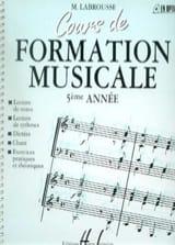 Cours de Formation Musicale - Volume 5 laflutedepan.com