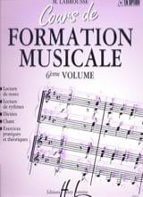 Cours de Formation Musicale - Volume 6 - laflutedepan.com