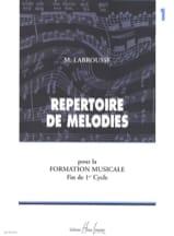 Répertoire de mélodies - Volume 1 laflutedepan.com