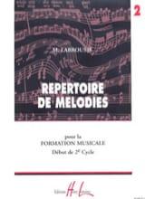 Répertoire de Mélodies Volume 2 Marguerite Labrousse laflutedepan.com